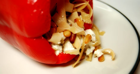 Pasta Stuffed Peppers